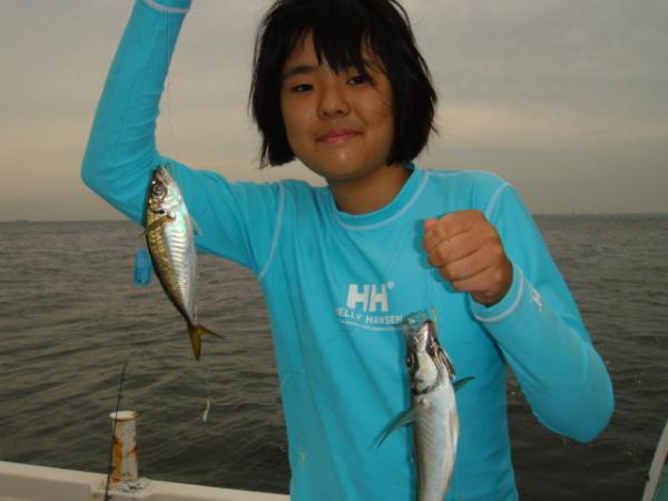 釣りガール 11歳