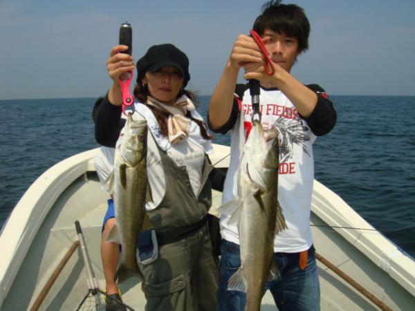 シーバス釣れてますよ(^o^)