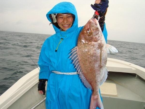 釣りガール 真鯛GET! タイラバのサムネイル