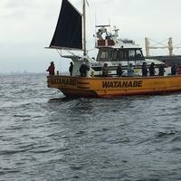 台風前の釣りのサムネイル