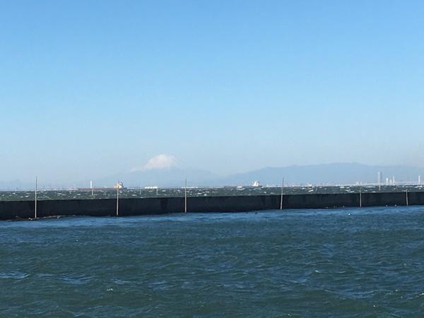 南西強風の為に出船中止