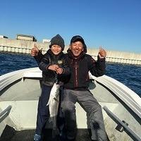 親子釣行、初ボートシーバスのサムネイル