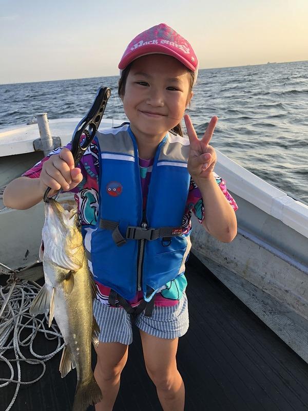 シロギス親子釣りのサムネイル